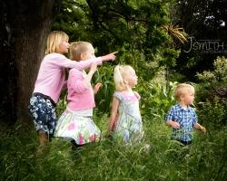 Botanic Garden's, children